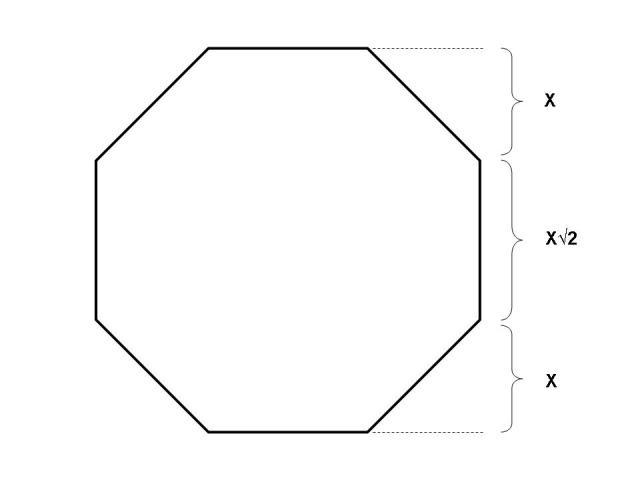 how to find the volume of a octagonal pyramid